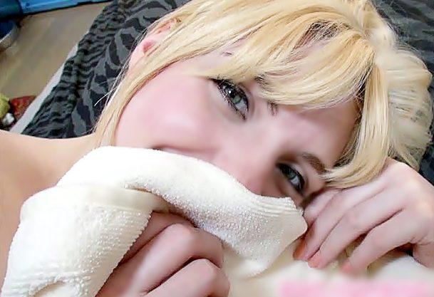 ニホン・のチ〇ポ・・すごぃ♡洋ピン軟派□蒼い目のパツキンちゃんに日本男児鬼チ〇コで海外エクスタシ~させるぜwwwwwwww
