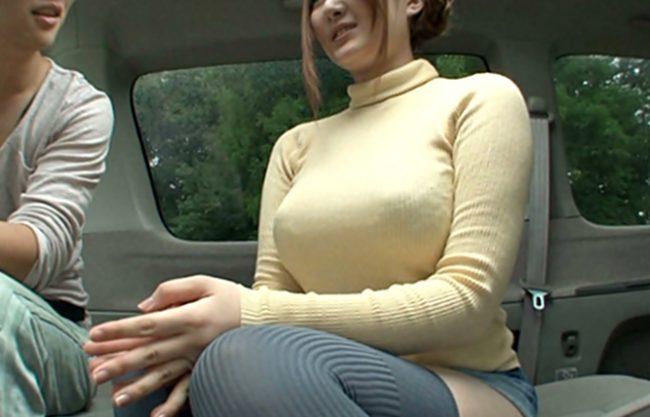 〝鬼っデカ~~~~~~~~~~~♬〟元祖スライムボインクイ~ンお姉さんが車中デ~トはお乳三昧のご奉仕プレイWWWWWWWWWW