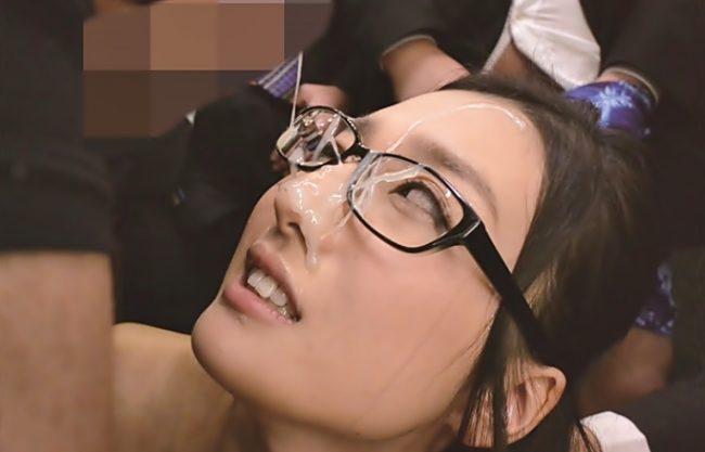 ★★古川いおり★★ へへへ、ツンデレ眼鏡め。。白オシッコで汚してやるぜ♪之がザーメン祭り?お姉さん犯されドロドロWWWWWW