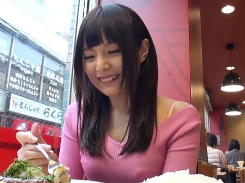 【素人ナンパ(^^♪】キュート小娘が萌え~萌え~のアニメ声でヒーヒー言うもんだから我慢出来ずにドップリ中出ししちまったぜwwww