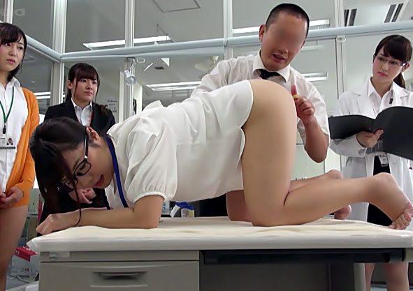 あぅいだぃ♡【SOD菊門処女…大実験♪】初めてのお尻イタズラが快感に発展するのか?女子社員が真面目に取り組んじまう(笑)