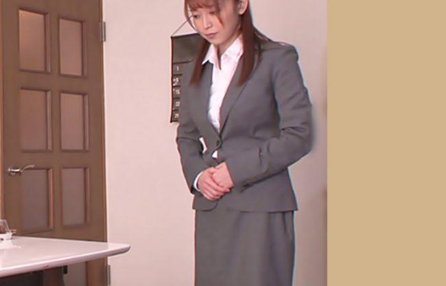 このオヤジ狂ってるぜ【篠田ゆう(^^♪】クレーム対応で土下座しにきたおばさんOLにお尻中出しで誠意を魅せろって…マジwwww
