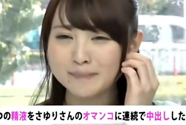 やだぁ~恥ずかしい【女子アナ志望のJDひっ捕らえたぜ(^^♪】放送禁止用語?のマイクテスト通りにハメられちまったお姉さんwwww