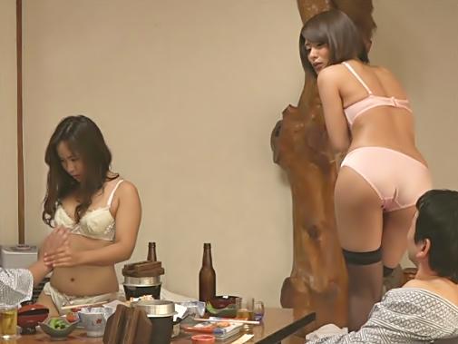【中出し♡ハーレム(^^♪】田舎の温泉宿は素人村娘がピンクコンパニオンとして種付け前提でご奉仕してくれるッてマジですかwwww