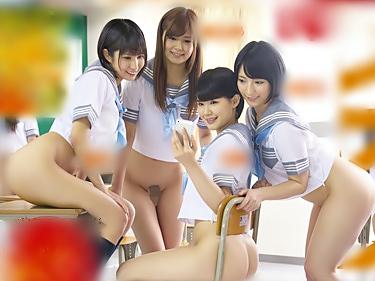 マジ。。。女子は全員下半身丸出しの校則だって(^^♪学校中が発情マ○コで溢れてるって勃起不可避以外にねえぜwwww