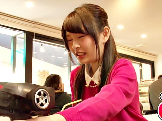 リモバイチャレンジ♡【跡美しゅり(^^♪】らっめぇ~マ◎コじんじんしちゃう!羞恥プレイで準備万端ロリ娘とトイレでムフムフwwww