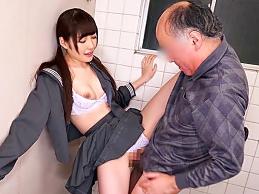 〚橋本ありな\鬼サセ子…降臨(^^♪〛おじさん~~中気持ちぃぃ~~♡オマセな制服小娘が学校トイレでヤリ捲りwwwwwwwwwwwwww
