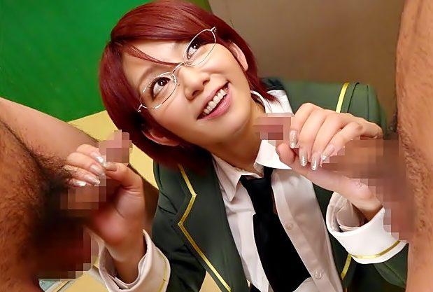 〚希美まゆ(^^♪〛ふふふ…硬いのだいしゅき!眼鏡の鬼サセ子が学園で複数チ◎コと戯れちまったぁぁぁ~wwwwwwwwwwwww