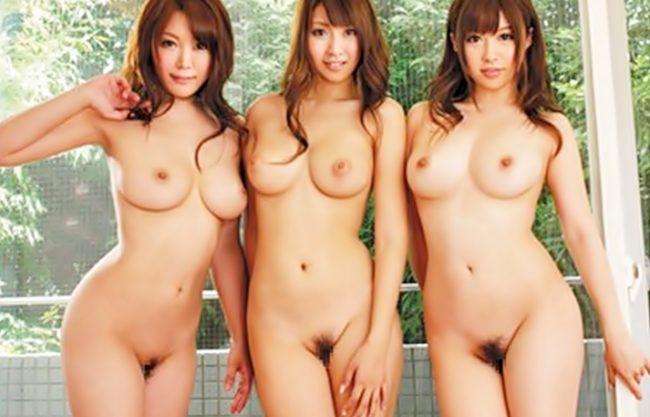 〔成瀬心美\北川瞳\峰ひなた(^^♪〕巨乳だらけぇぇぇ~勃起止まんねえぜ!裸族なな美女3人と共同性活ってサイコウwwwwwwwwwww