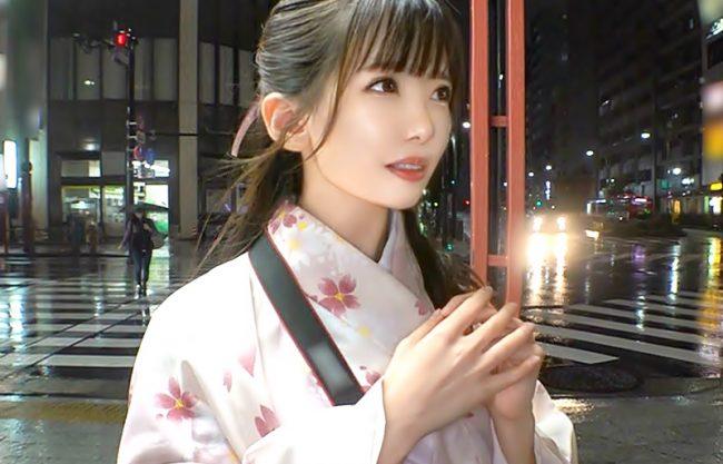 『S級絶品~シロウト軟派(^^♪』日本人形のように超色白JDおね-さんが和服着衣で痴態を晒しちゃうぜぇ~wwwwwwwwwwww