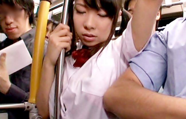 〚汚されJK(^^♪〛お乳グリグリ止めて~蒸し風呂状態の車中でブラジャーまでスケてる小娘にイタズラ~wwwwwwwwwwwww